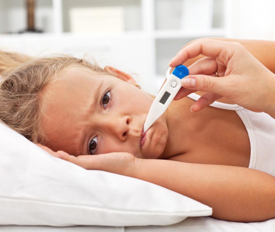 la-febbre-nel-bambino