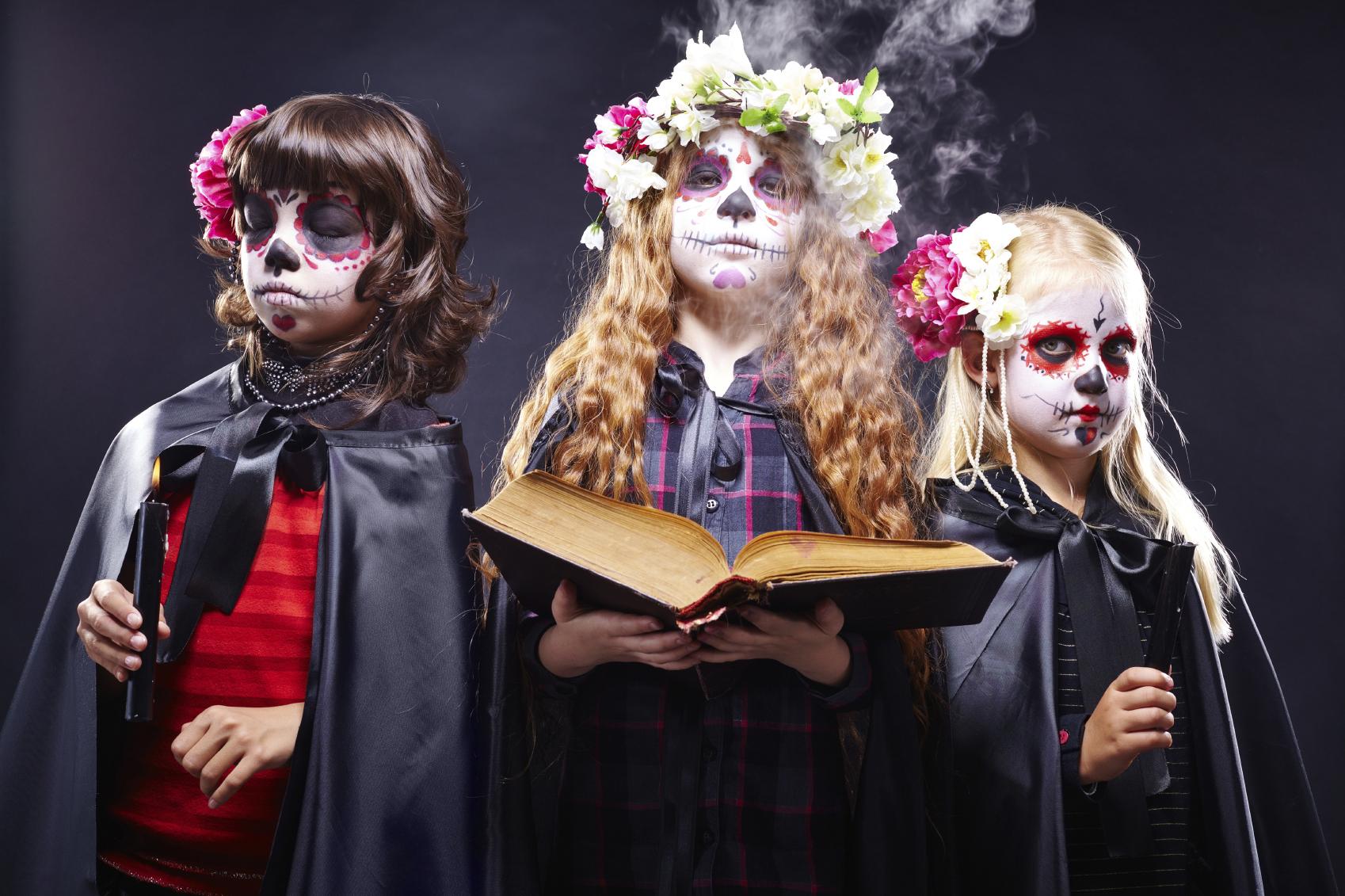 Immagini di trucco di Halloween per bambini - PianetaMamma.it