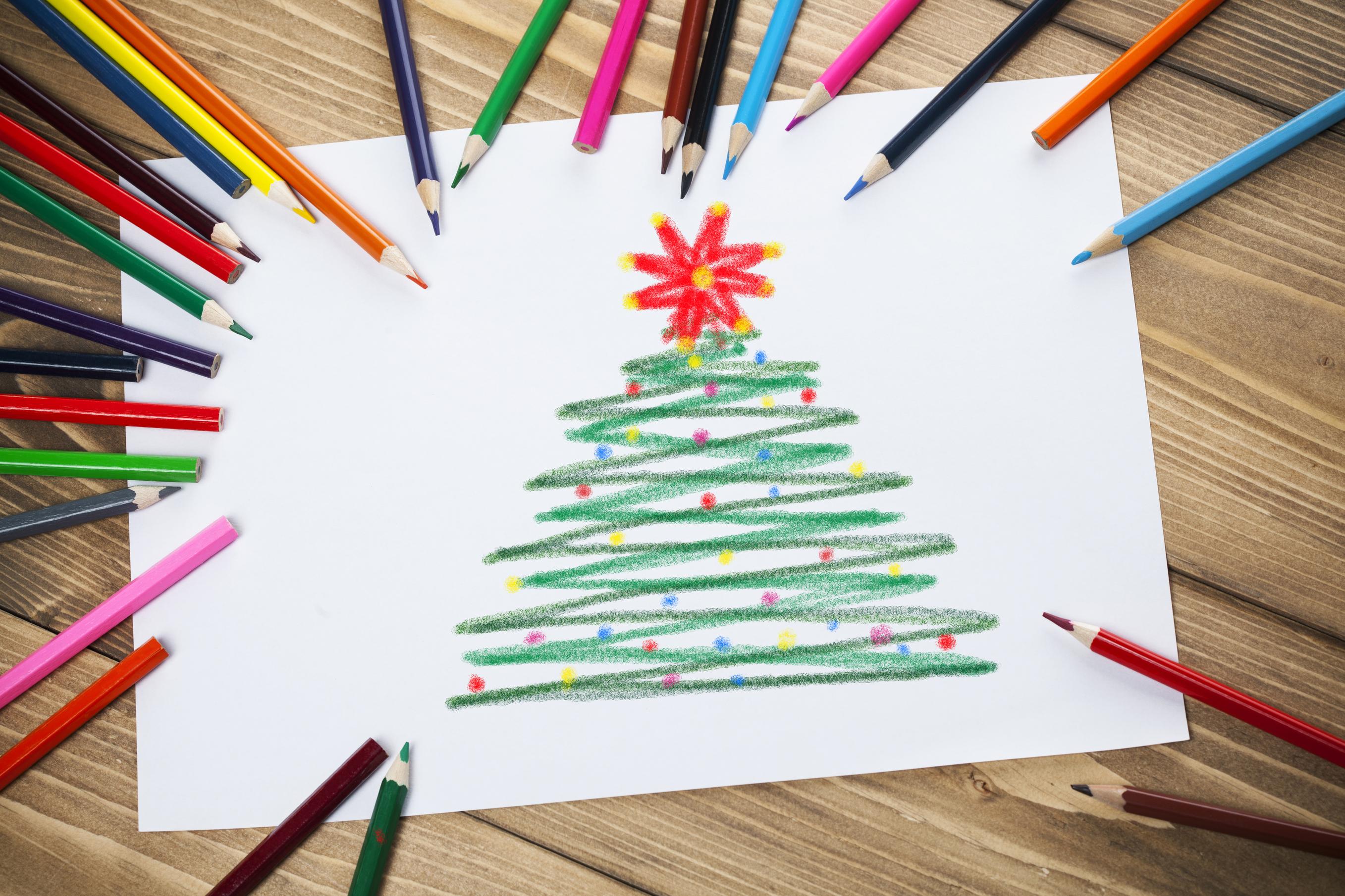Disegni Di Natale Per Bambini Pianetamamma It