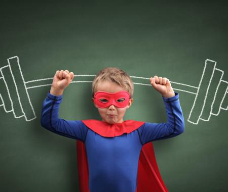 Rubies costume con guanti da Batman ufficiale DC Comics per bambini