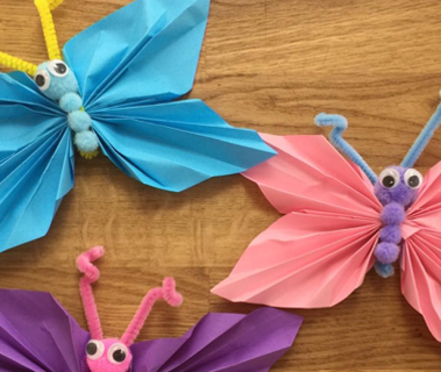 Come fare farfalle di carta   Video Tutorial - PianetaMamma.it