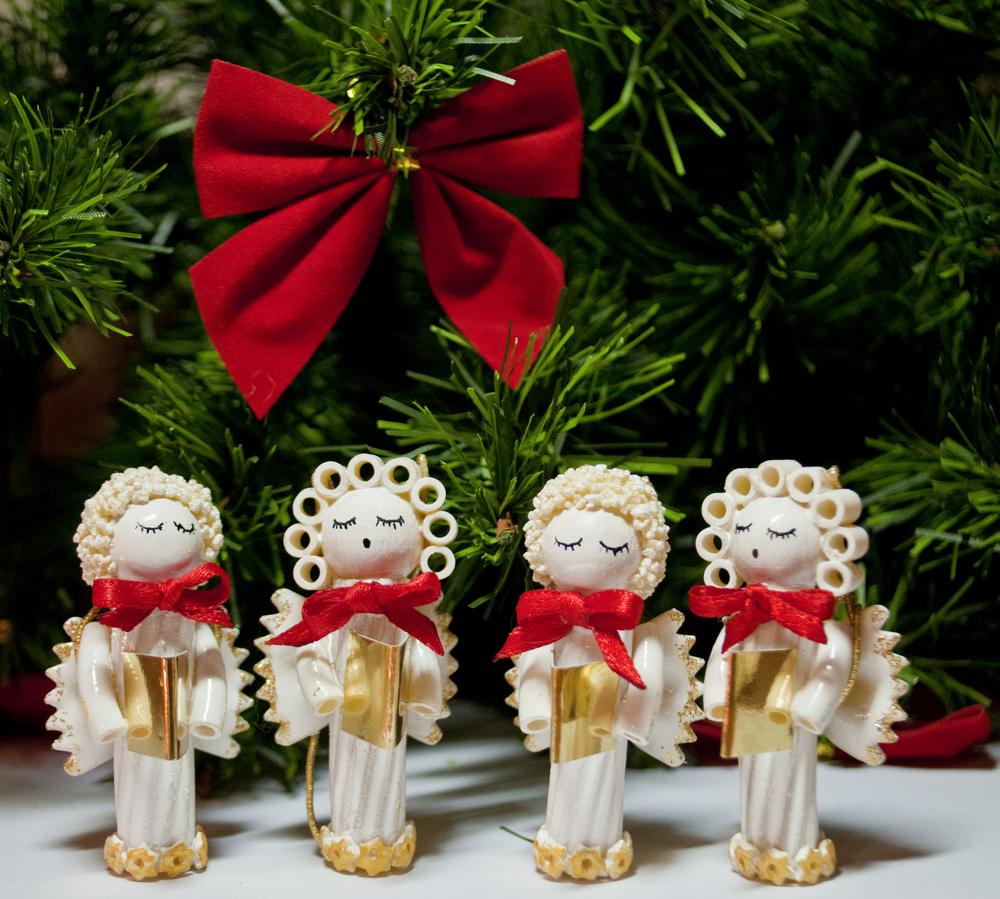 Lavoretti Di Natale Con La Pasta Di Mais.Lavoretti Di Natale Con La Pasta Per Bambini Pianetamamma It