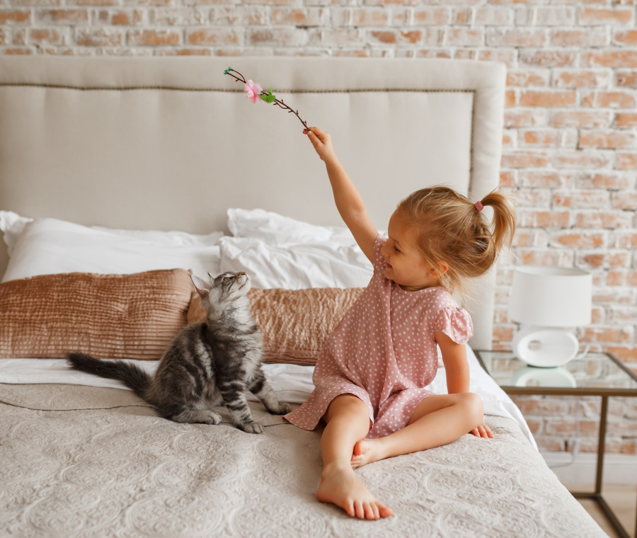 gatto-bambina
