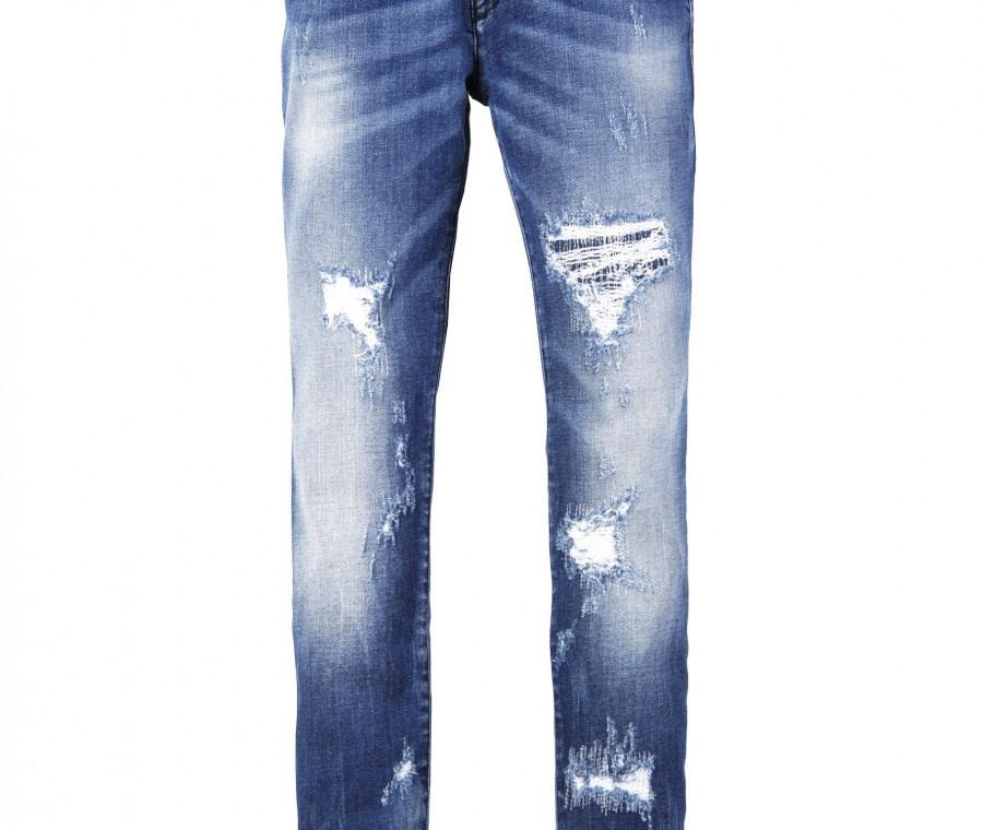Diesel, abbigliamento bambini p/e 2016 | Jeans bimba con strappi | Foto