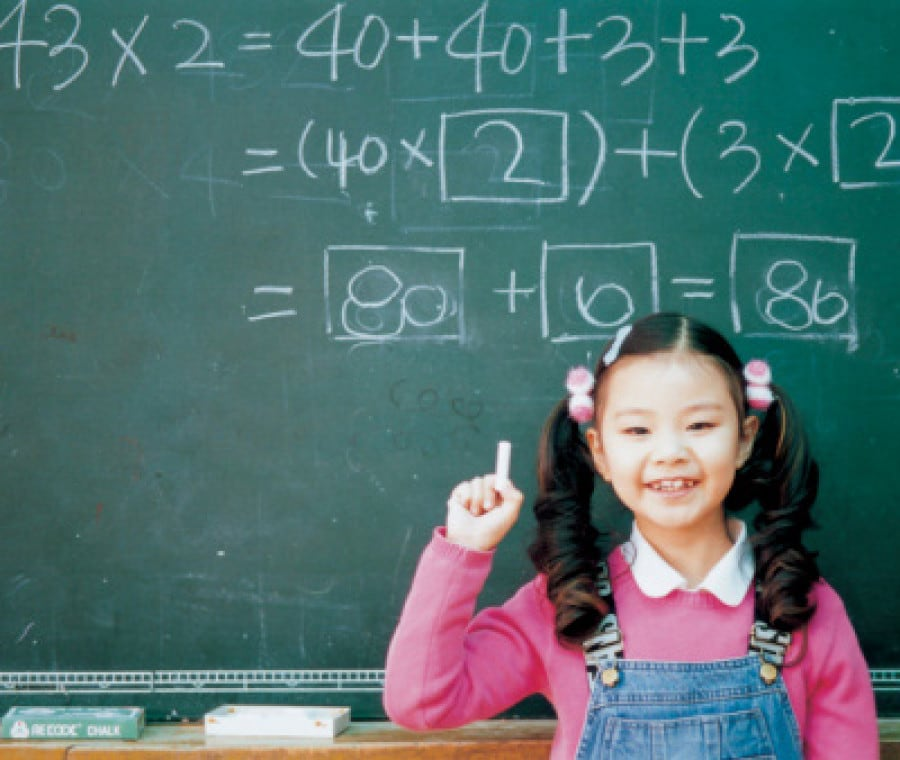 bambina-e-matematica