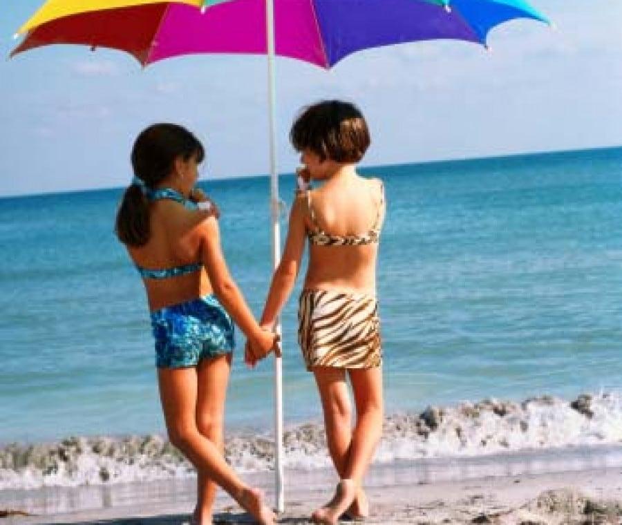 bambini-ombrellone