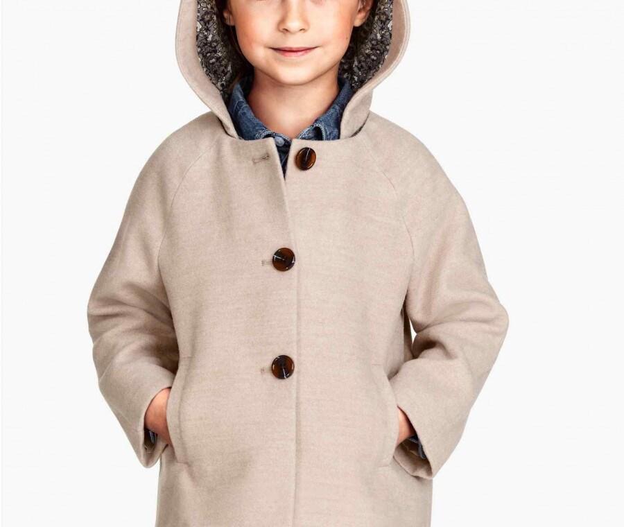 Cappotto con cappuccio H&M (FOTO)