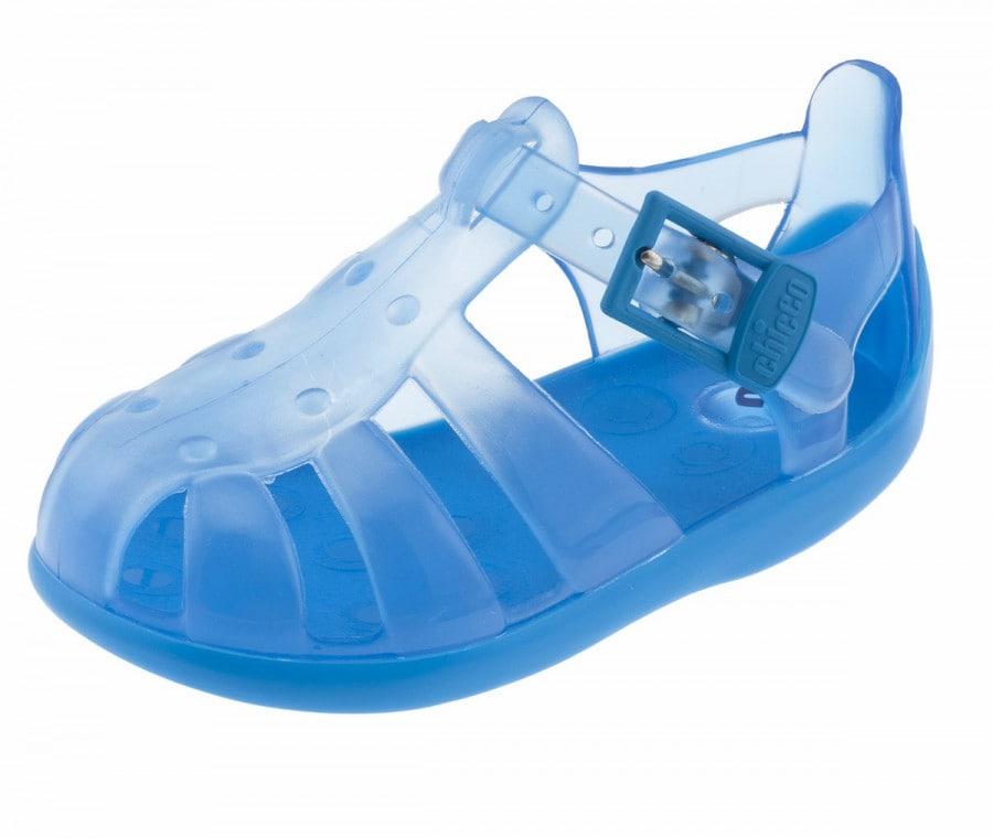Sandali blu da spiaggia (FOTO)