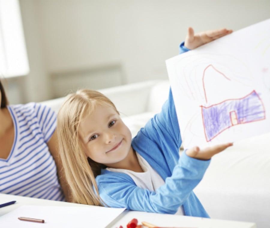Come conservare i disegni dei bambini