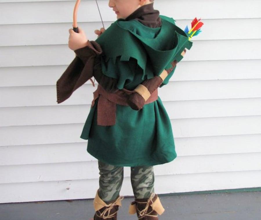 Costume Carnevale bambino Robin Hood