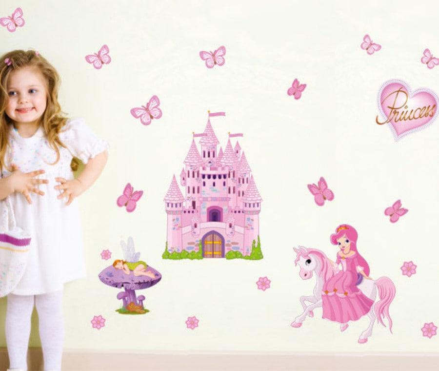 set-principesse-stickers-murali