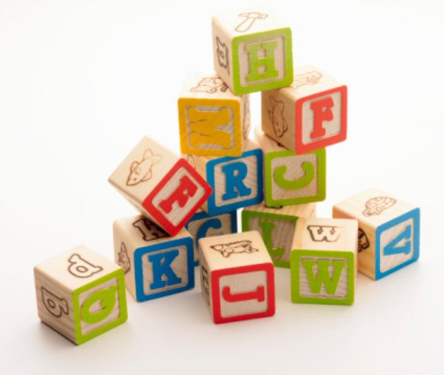 Il nome con i cubi (FOTO)