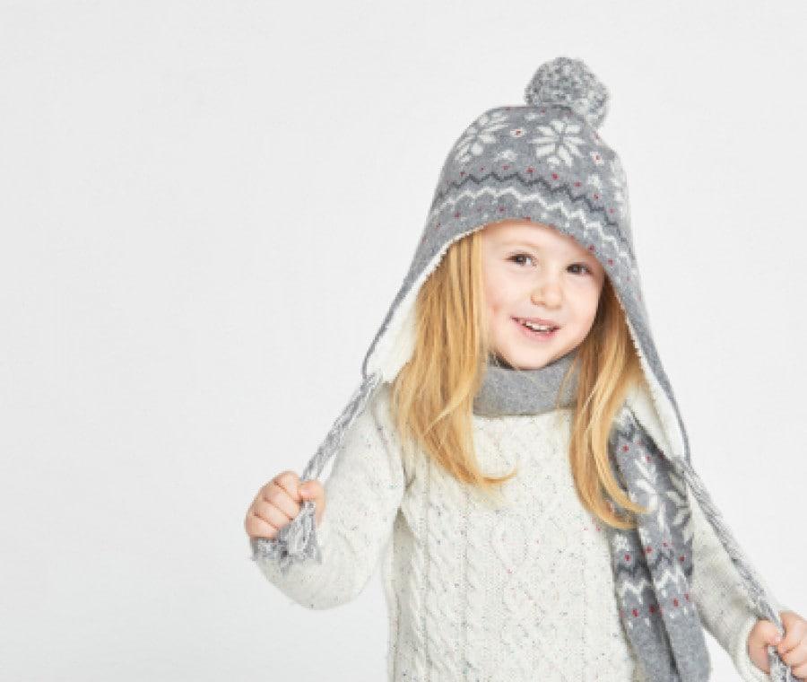Cappelli invernali per bambini | Cappellini per l'inverno | Foto