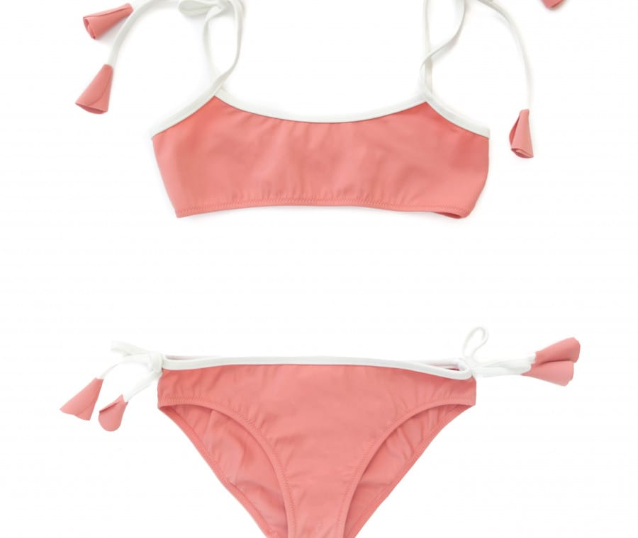 Bikini bimba color pesca Folpetto Swim