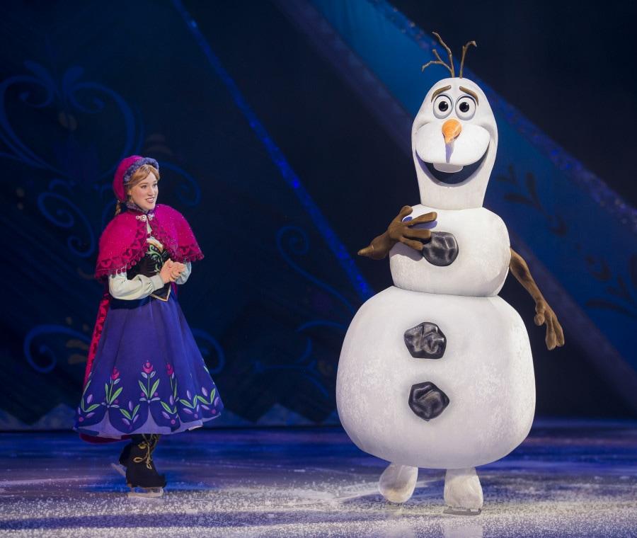 Anna e Olaf da Frozen