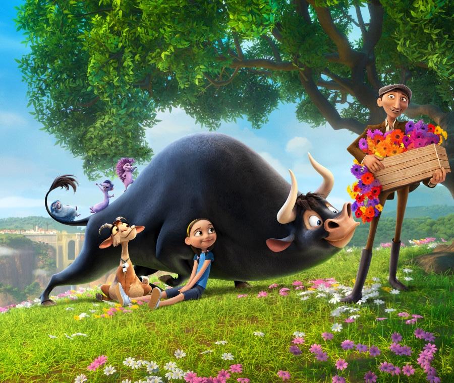 Ferdinand con i suoi amici tra i fiori