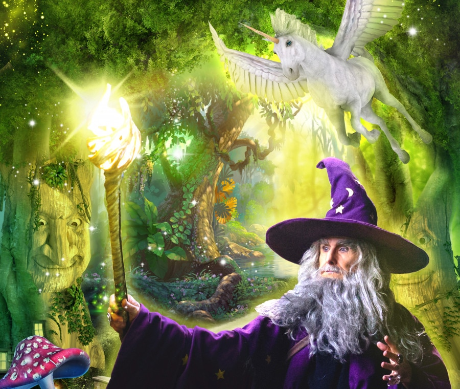Gardaland Enchanted Forest
