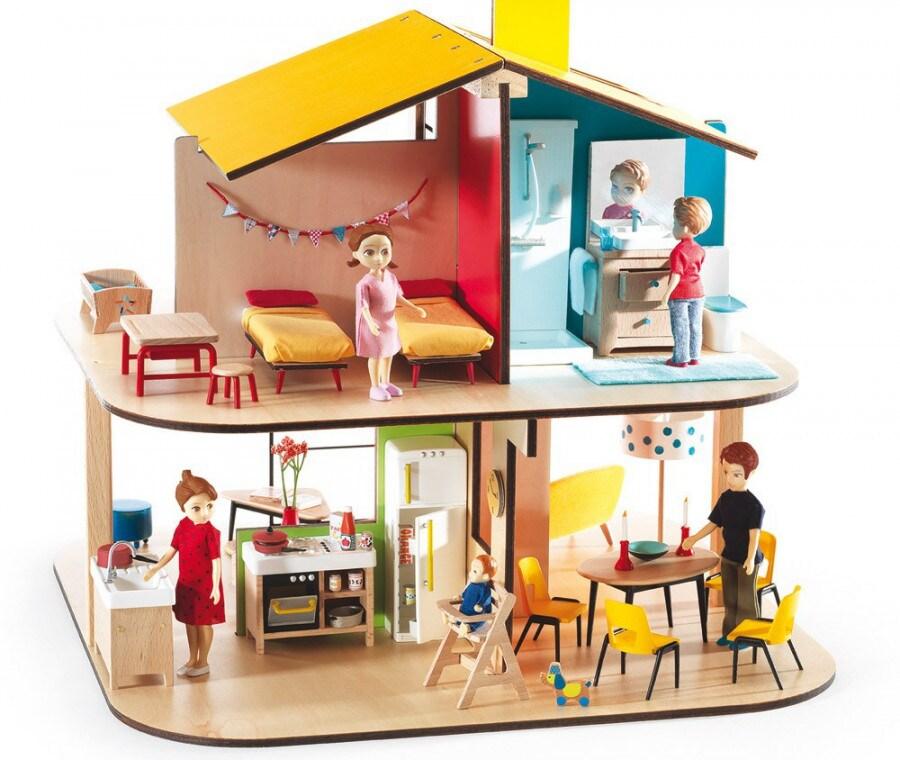 Casa delle bambole Le civette sul como