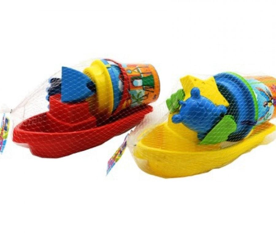 W'Toy barca secchiello, Globo Giocattoli
