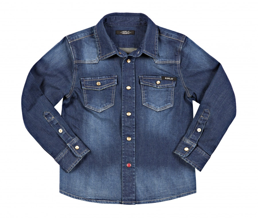 Replay&Sons camicia jeans