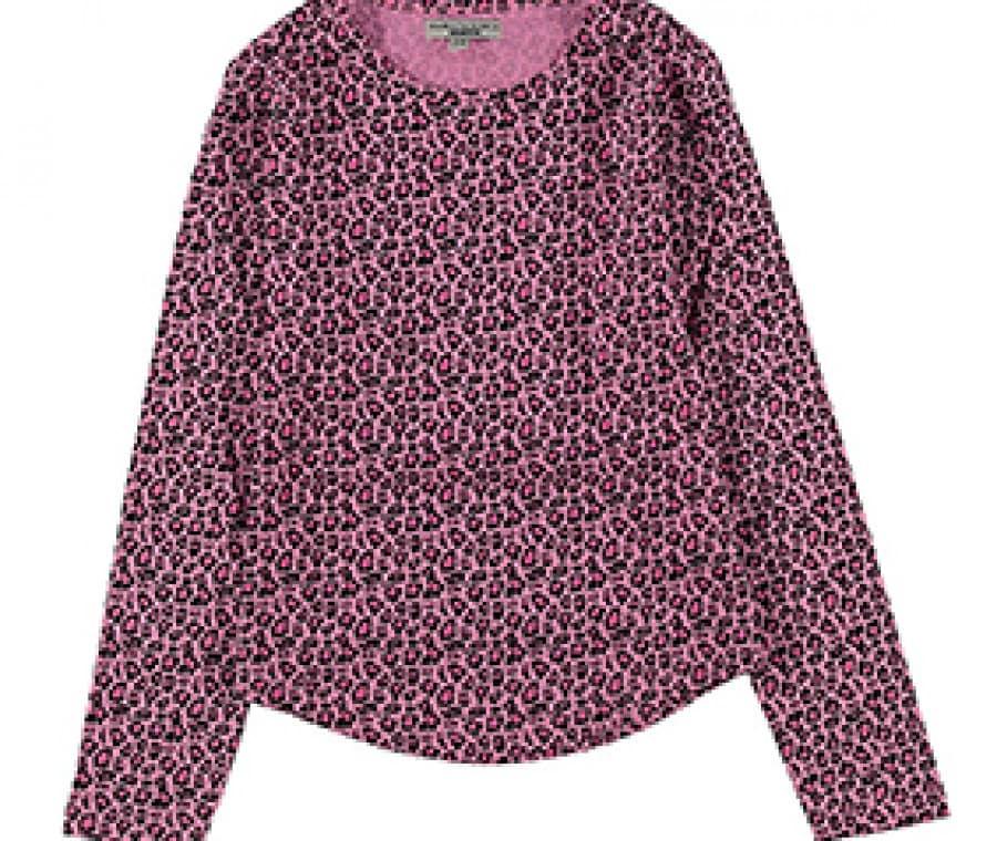 Piazza Italia, moda bambini a/i 2015 2016 | Blusa maculata rosa | Foto