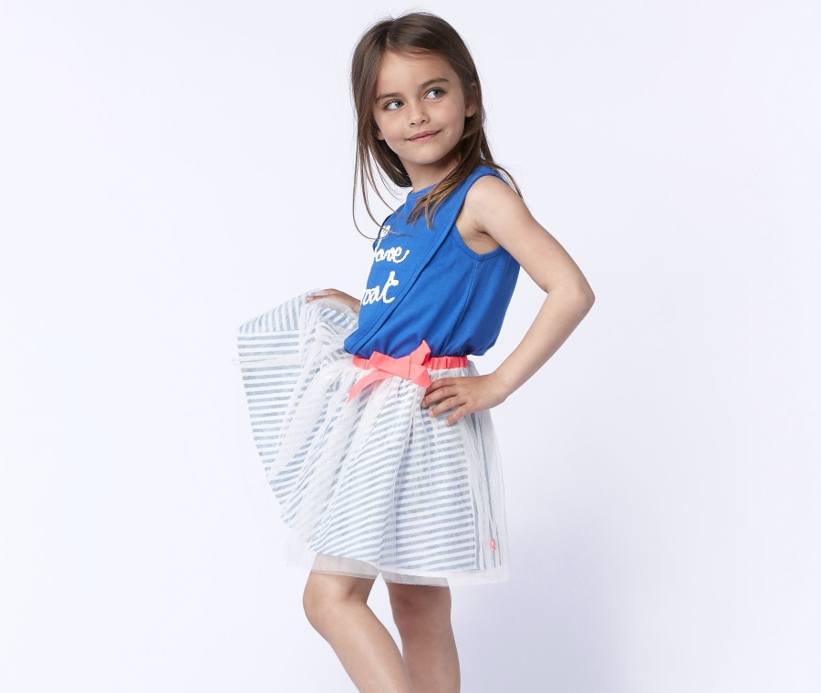 Billieblush modello per bambina
