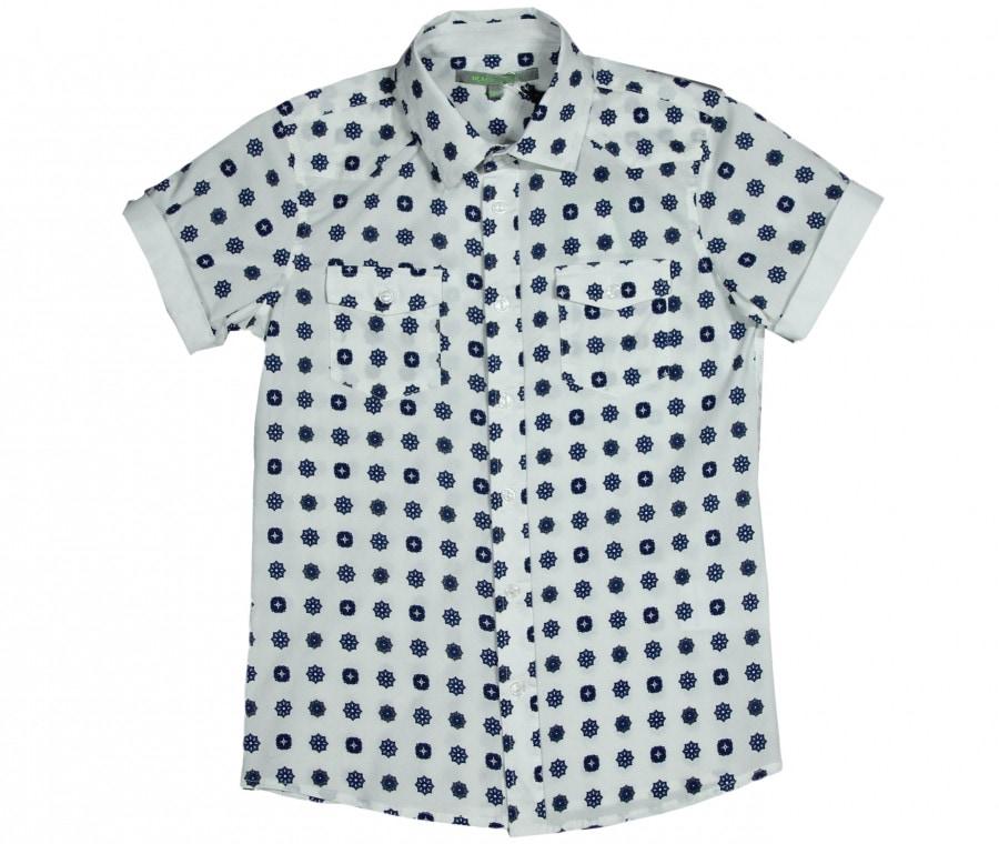 Camicia con fiorellini
