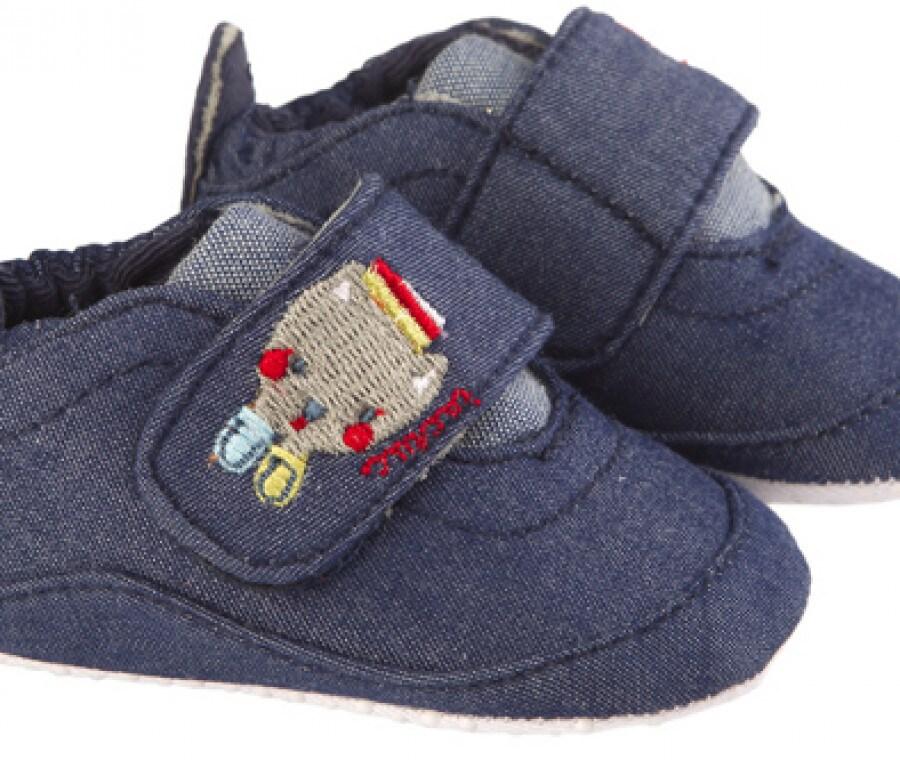 Tuc Tuc, accessori neonati autunno inverno 2015/2016 | Scarpine jeans | Foto