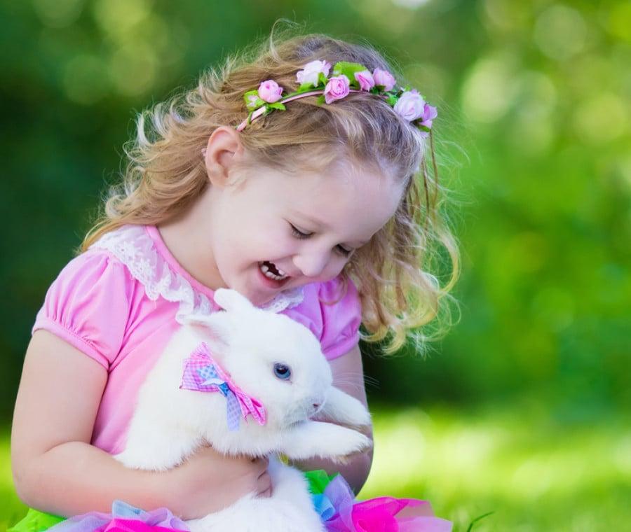 Uova di Pasqua per bambine