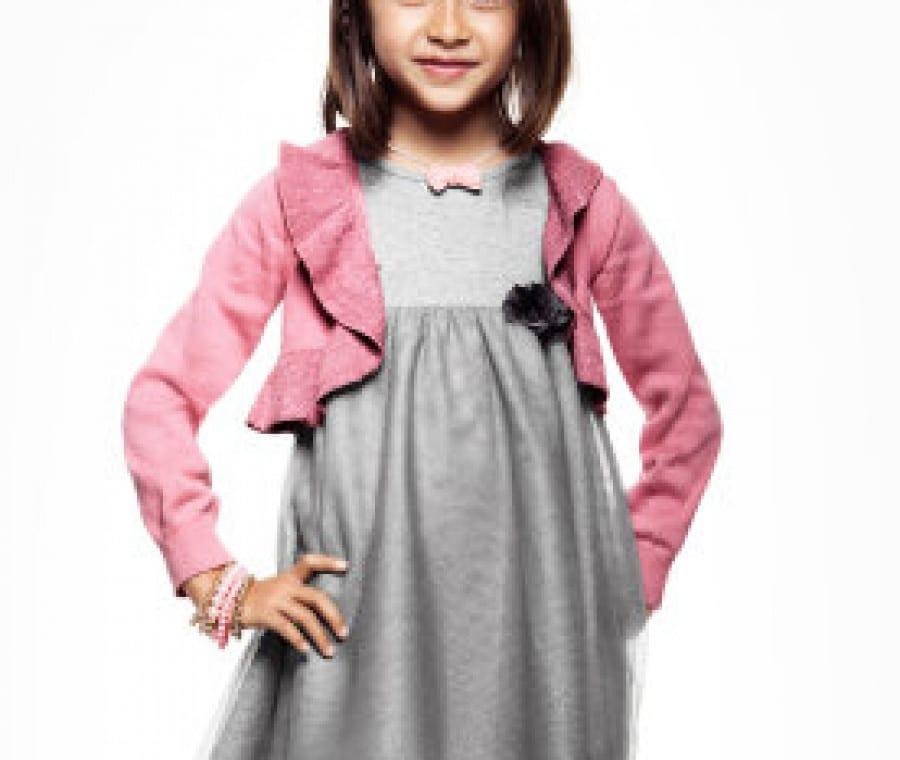 abito-grigio-bolero-rosa-hm