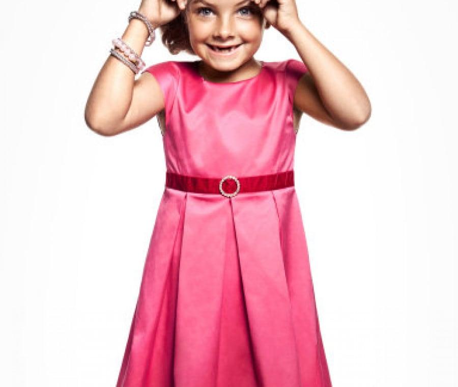 abito-in-satin-rosa-bambina-hm