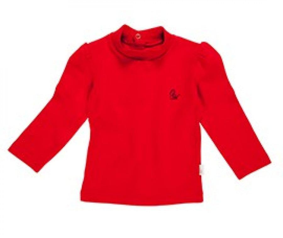 lupetto cotone rosso