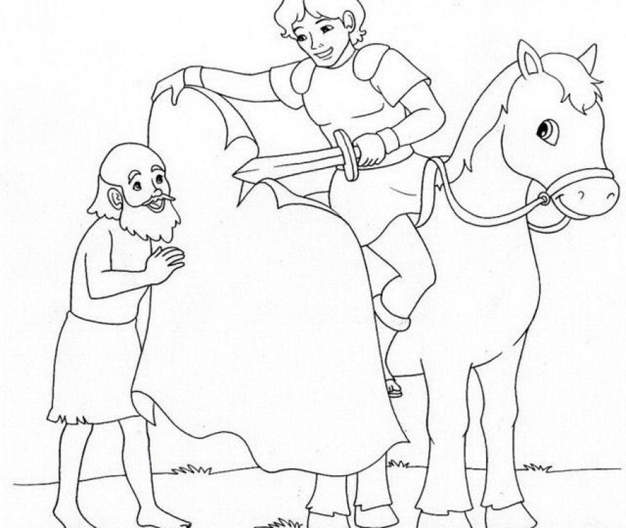 San Martino a cavallo