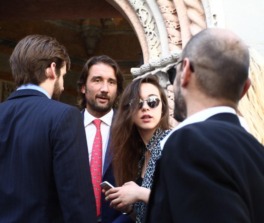 Tomaso Trussardi con Aurora Ramazzotti (FOTO)