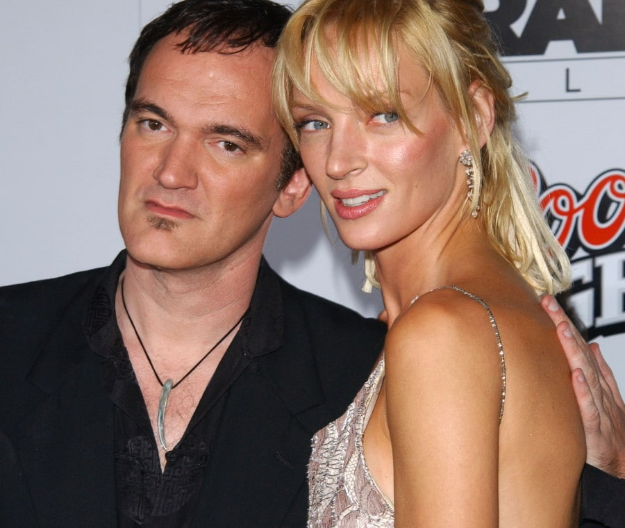 Quentin Tarantino e Uma Thurman per Kill Bill