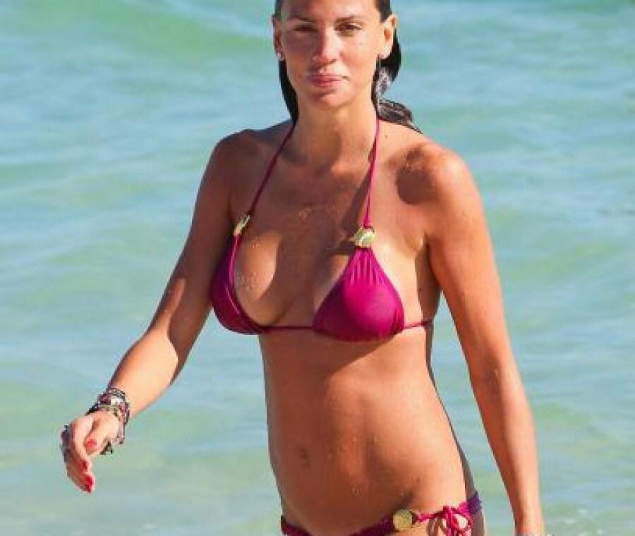 Claudia Galanti incinta per la seconda volta