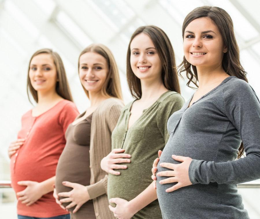 Quattro sorelle partoriscono insieme