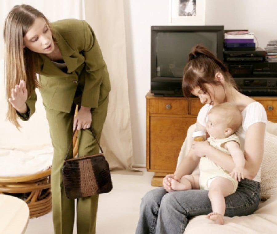 Abituare al bambino al distacco