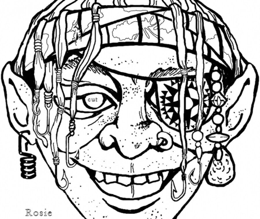 Maschera del pirata