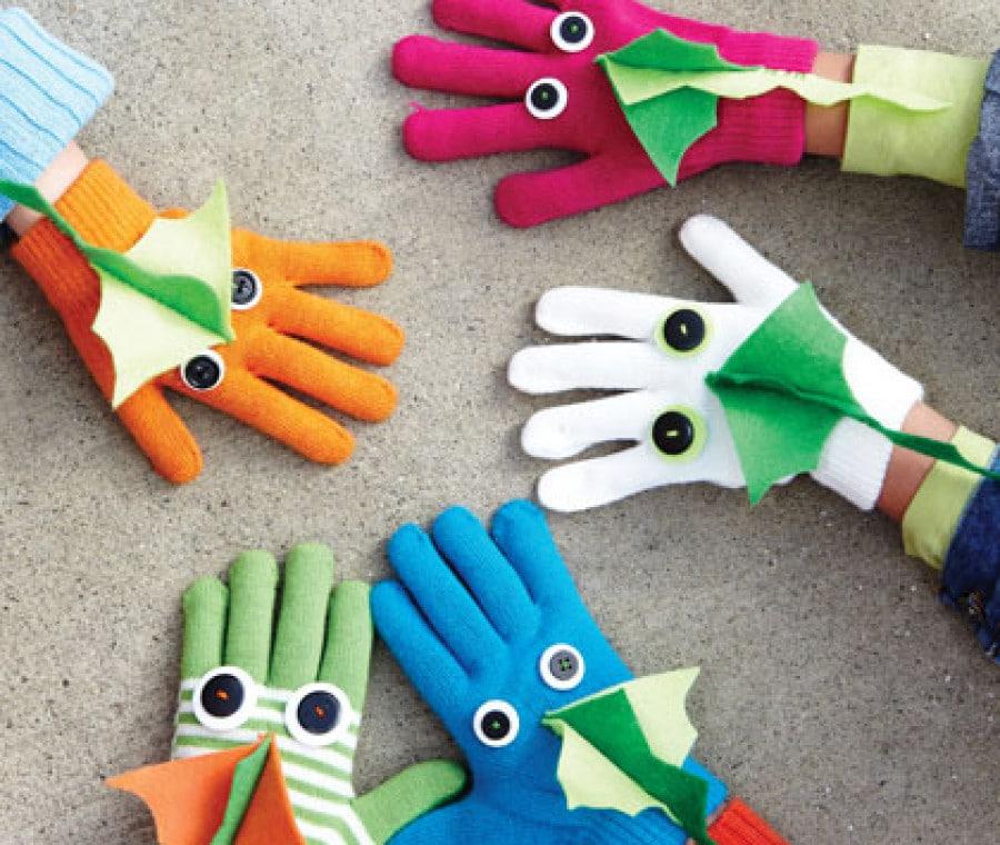 Cambiare volto ai guanti
