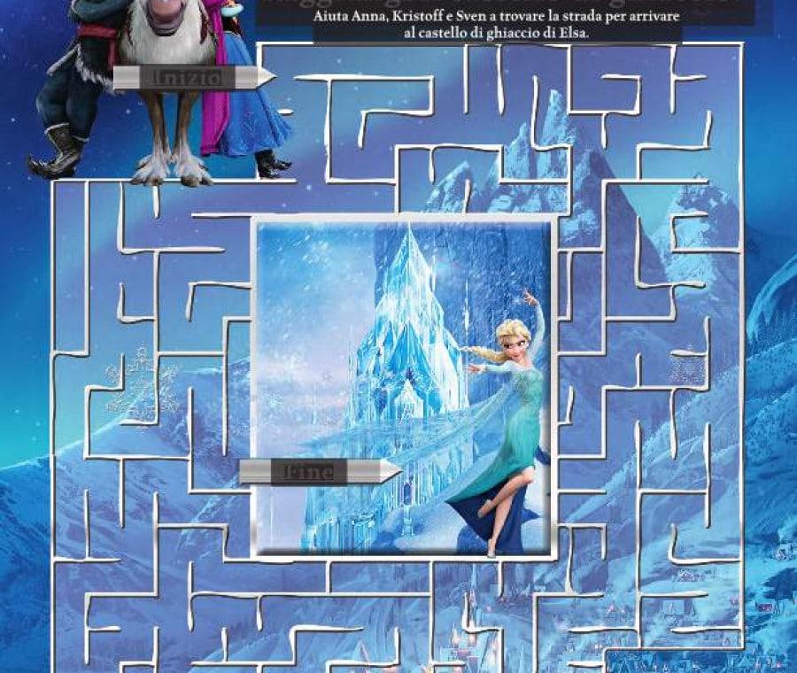 Il labirinto di Frozen