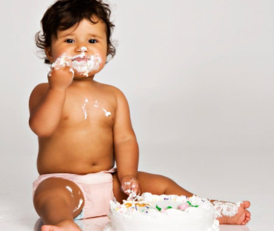 Smash cake (FOTO)